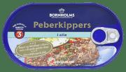 Bornholms pepperkippers i olje 190 g