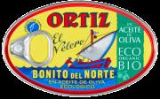 Ortiz tunfisk hvit i olivenolje ØKO 112 g