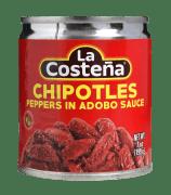 La Costena chipotle chilipepper 199 g