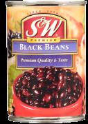 S&W bønner sorte 425 g