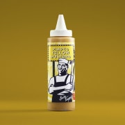 Sticky Fingers american yellow mustard 237 ml