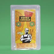 Sticky Fingers dobbel cheddar skivet 150 g