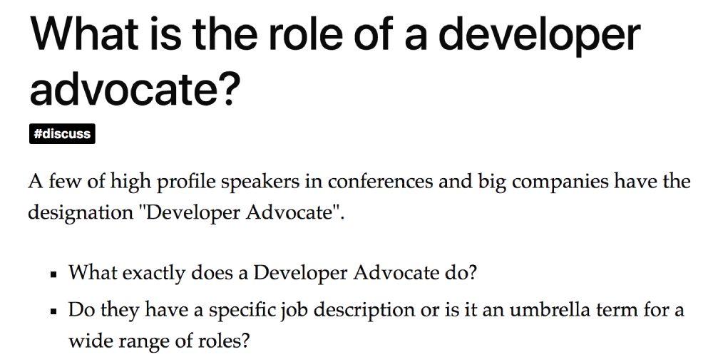 DevRel - What is Developer Relations?