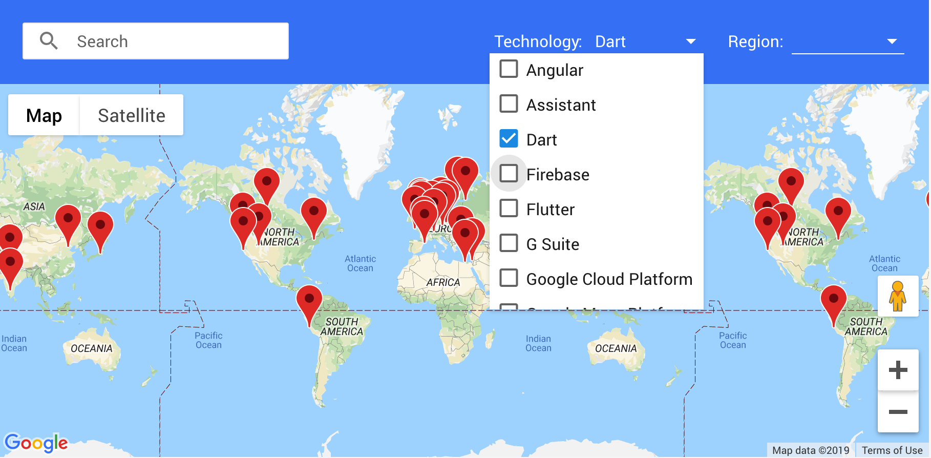 GDE Map.
