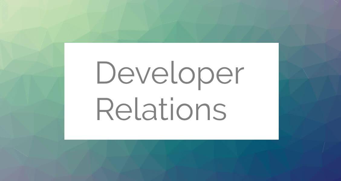 DevRel what is developer relations?