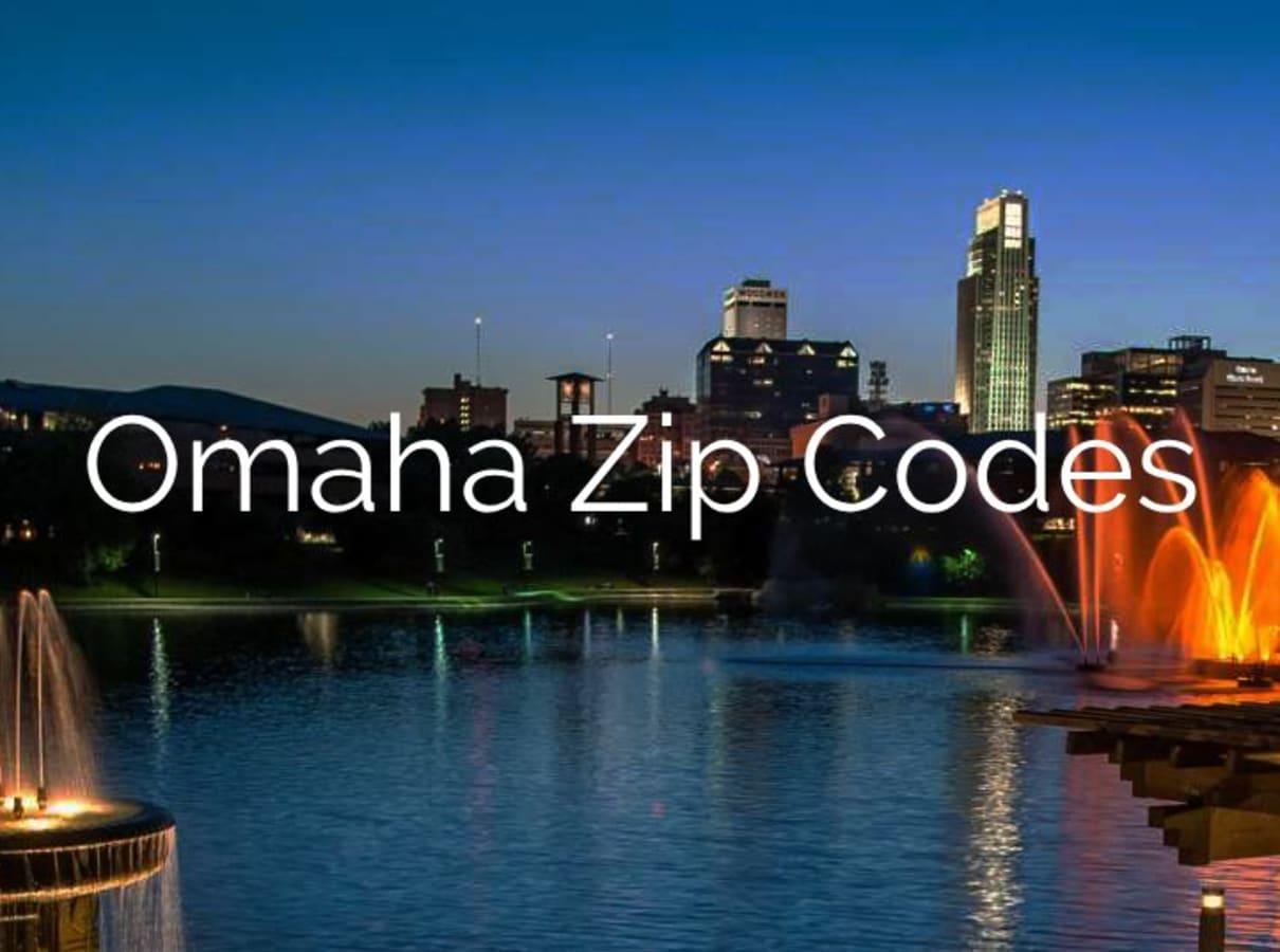 Omaha Zip Code Map | 48 Zip Codes in Omaha, Neska on