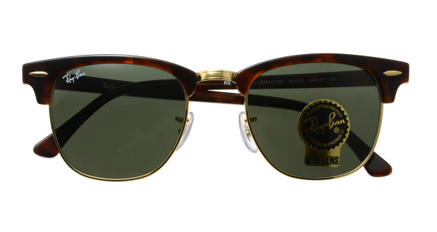 ray ban clubmaster 49  Ray-Ban CLUBMASTER CLASSIC RB3016-W0366-49 (tortoiseshell ...