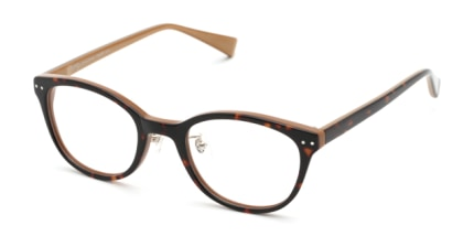 プラスオーエムジー アニー OMG-003-4 メガネを試着で購入