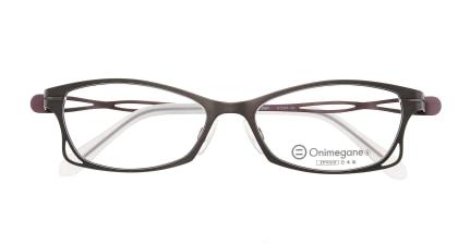 オニメガネ OG7205-DBR メガネを試着で購入