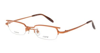 コア CR-22-4 メガネを試着で購入