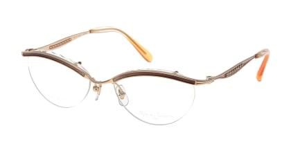 ビジュ ドゥ ナナ B047-PG-54 メガネを試着で購入