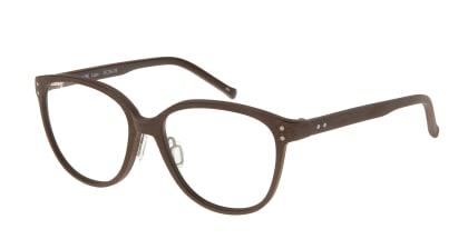プラスオーエムジー ローラ OMG-060-BR-51 メガネを試着で購入