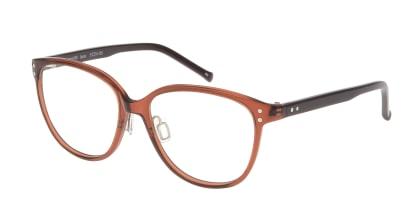 プラスオーエムジー ローラ OMG-060-RE-51 メガネを試着で購入