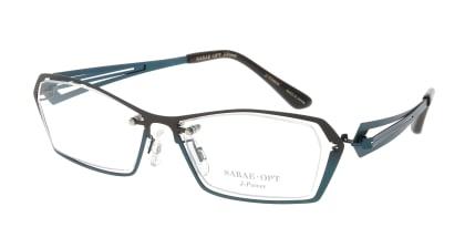スーン 001-BRG/BL メガネを試着で購入