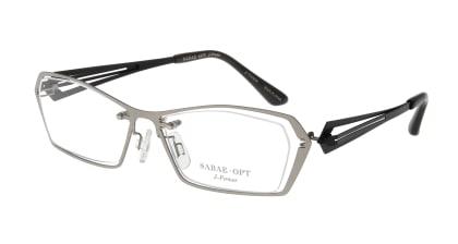 スーン 001-TI/BK メガネを試着で購入