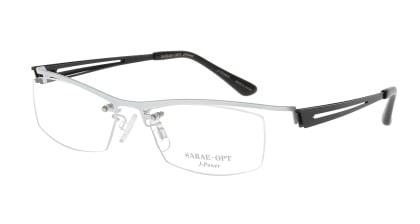 スーン 002-WHP/BK メガネを試着で購入