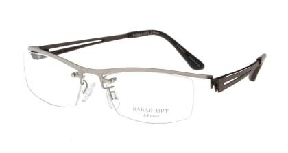 スーン 002-TI/BR メガネを試着で購入
