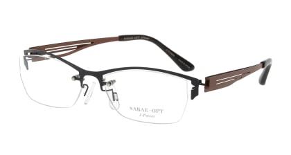 スーン 003-NV/BR メガネを試着で購入
