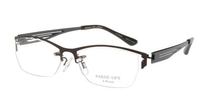 スーン 003-BR/GN メガネを試着で購入