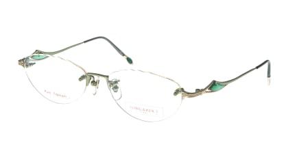 オーガニックスビュー OR-002-GR メガネを試着で購入