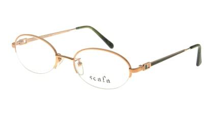 スカラ 942-C2 メガネを試着で購入