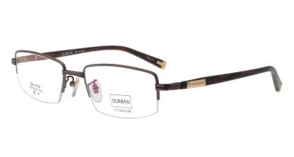 ダーバン dn-9150-c-3-br メガネを試着で購入