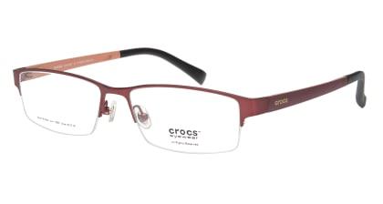 クロックスアイウェア CF4005-15BN-55 メガネを試着で購入