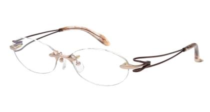 ミュウゲ MU-1065-1-52 メガネを試着で購入