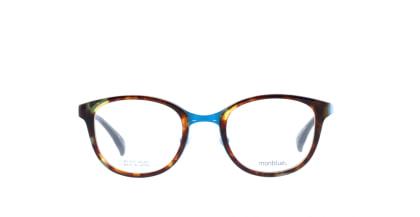 モンブルー MO-018-6 メガネを試着で購入