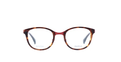 モンブルー MO-018-28 メガネを試着で購入