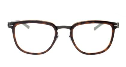 アイシーベルリン Kathi B.-Black Tortoise Shell Washed/Obsidian メガネを試着で購入