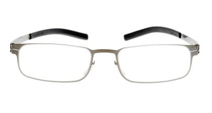 アイシーベルリン Gabriel-Gun Metal メガネを試着で購入
