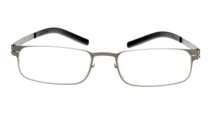 アイシーベルリン Gabriel-Graphite メガネを試着で購入
