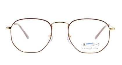 サラギーナ TIBERIO-340-V メガネを試着で購入