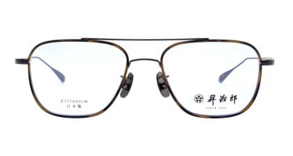 昇治郎 SJ-6017-IPBK-54 メガネを試着で購入