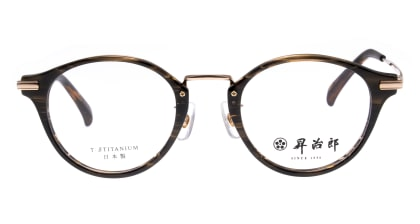 昇治郎 SJ-6103-BRS-47 メガネを試着で購入