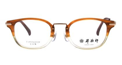 昇治郎SJ-6104-BRH-48 メガネを試着で購入