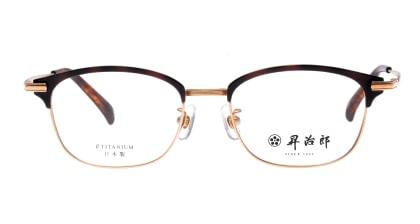 昇治郎 SJ-6106-G/DM-51 メガネを試着で購入