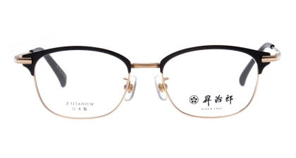 昇治郎SJ-6106-G/BK-51 メガネを試着で購入