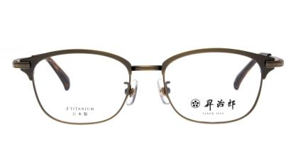 昇治郎 SJ-6106-ATGP-51 メガネを試着で購入