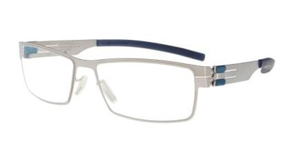 アイシーベルリン Peter C. (flex) -pearl -electric powder blue -clear メガネを試着で購入