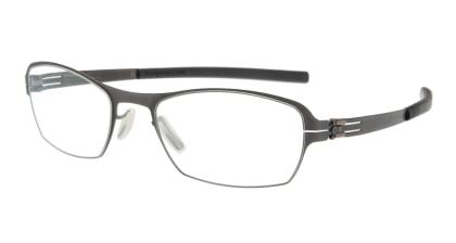 アイシーベルリン auf dem flusse (flex)-graphite-rx clear メガネを試着で購入
