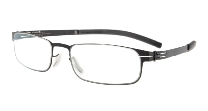 アイシーベルリン gabriel (flex)-black-clear メガネを試着で購入