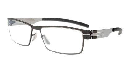 アイシーベルリン Peter C. (flex)-gun metal-chrome-clear メガネを試着で購入