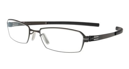 アイシーベルリン solal (flex)-graphite-rx clear メガネを試着で購入