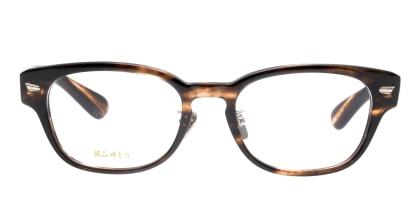銘品晴夫作 ME-11-3-52 メガネを試着で購入