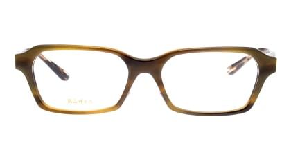 銘品晴夫作 ME-16-2-54 メガネを試着で購入