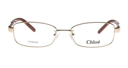 クロエ CE2500A-713-52 メガネを試着で購入