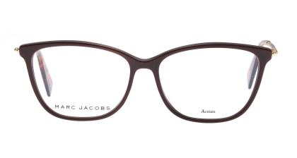 マークジェイコブス MARC 258-52-LHF メガネを試着で購入