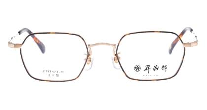 昇治郎 6020-BG/D-48 メガネを試着で購入